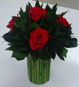 Букет из стабилизированных роз